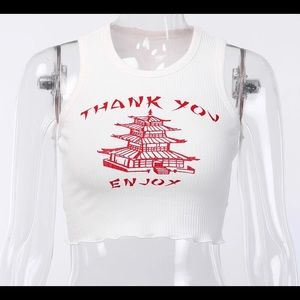 Take out crop top
